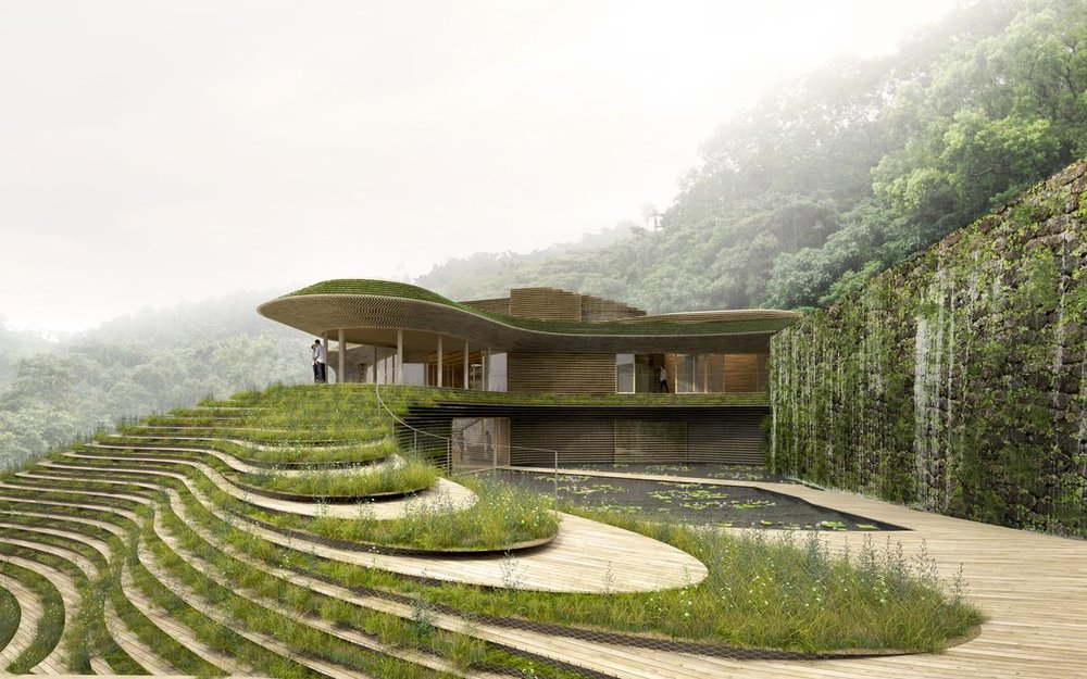 Kengo Kuma-designed hot springs resort is a powerful celebration of nature. Credit:  Six Senses