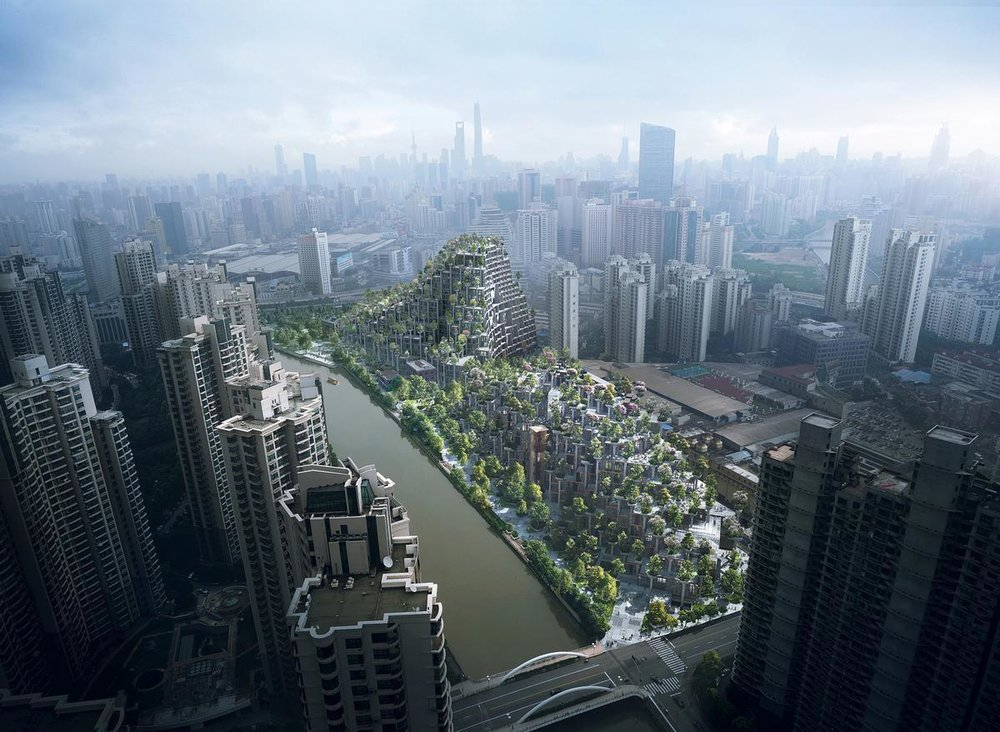New district underway in Shanghai: 1,000 Trees. Credit: Noah Sheldon