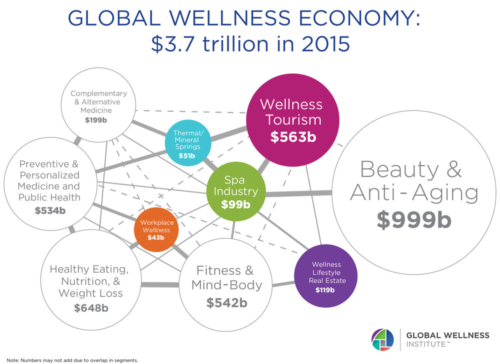 Image Result For Global Wellness Industry