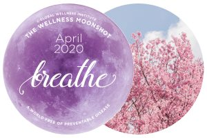 Breathe for Wellbeing: April's Wellness Moonshot Theme