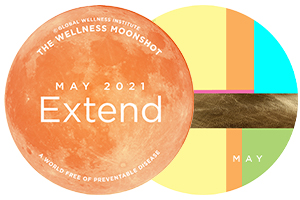 May 2021 | Extend, Apply Moonshot Thinking and EXTEND Your Wellness Imagination