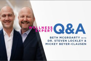 """Q&A with Dr. Steven Lockley and Mickey Beyer-Clausen: Why """"circadian time"""" will become the foundation of health and wellness"""